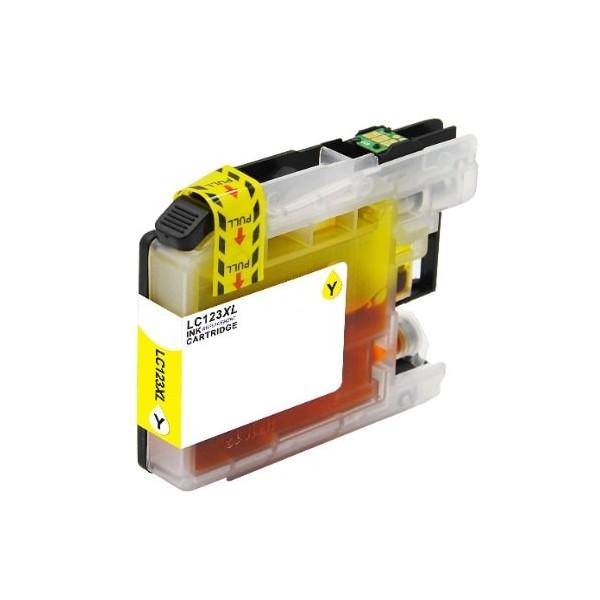 Cartuccia Compatibile Brother Giallo Serie LC-125XLY